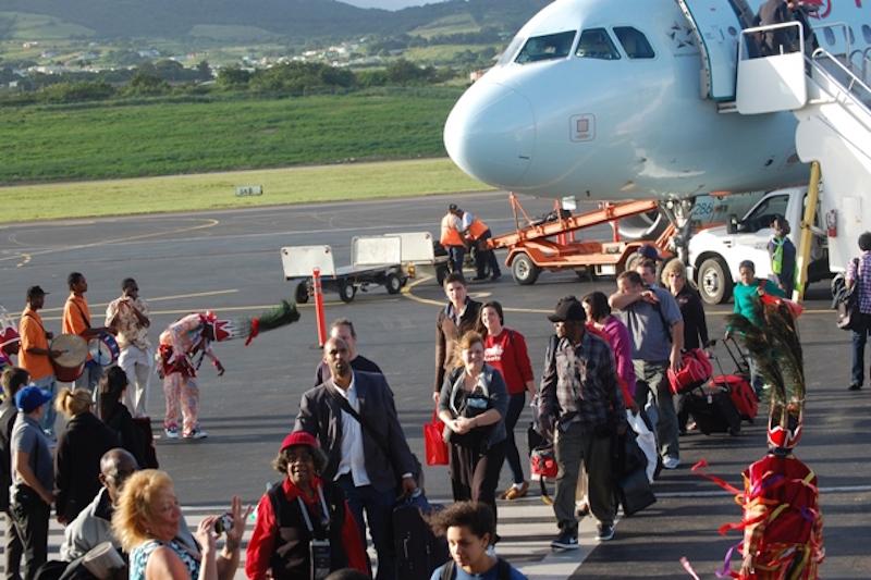 arrivals-Air Canada