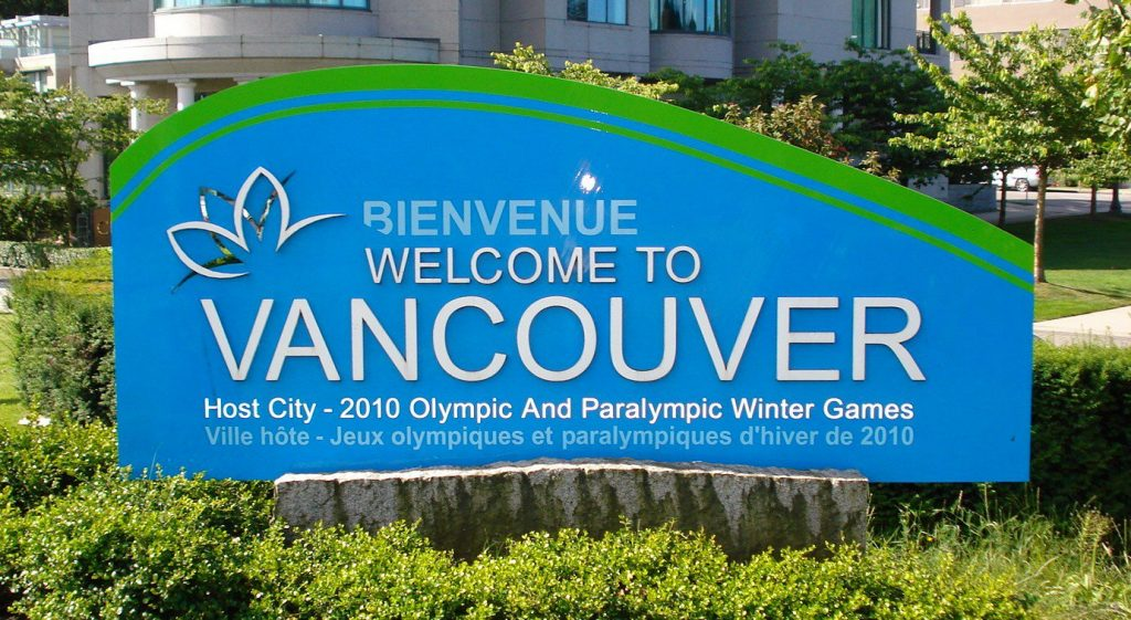 VANCOUVER welcome